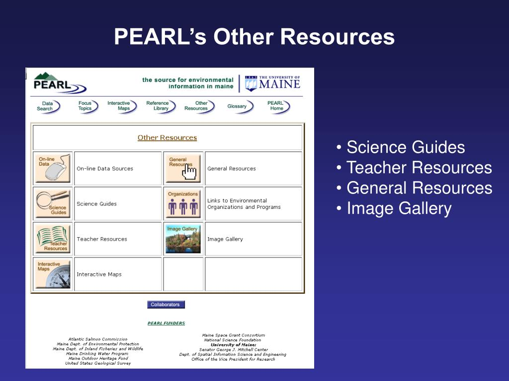 PEARL's Other Resources
