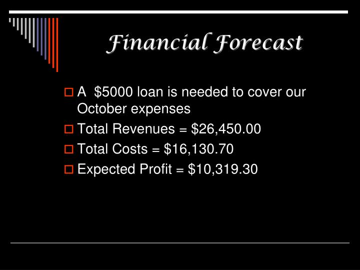Financial Forecast