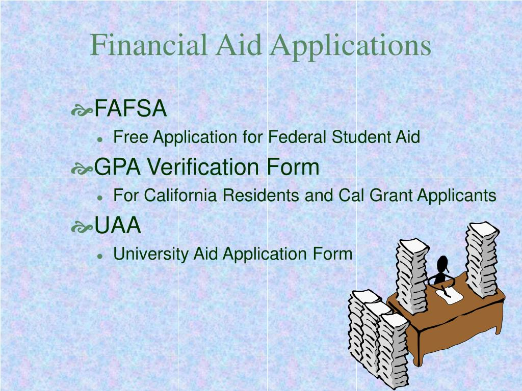 Financial Aid Applications