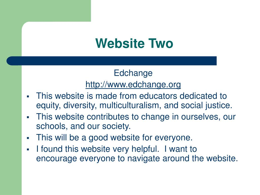 Website Two