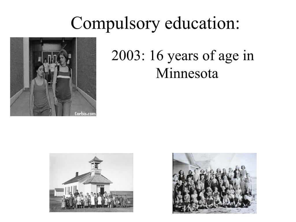 Compulsory education: