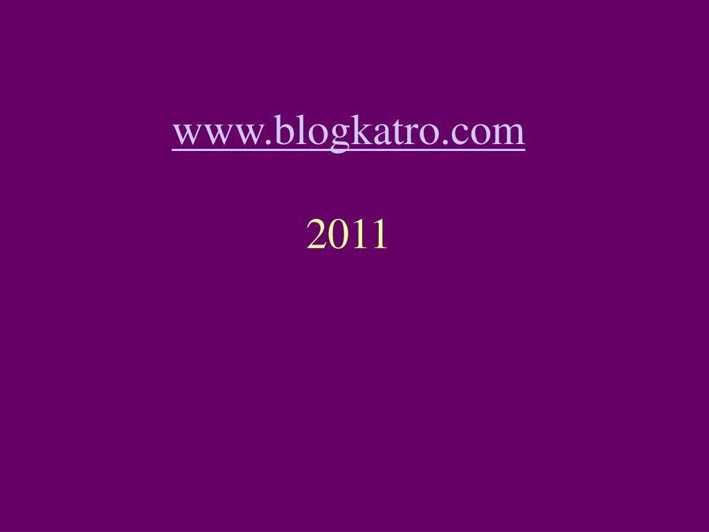 www.blogkatro.com