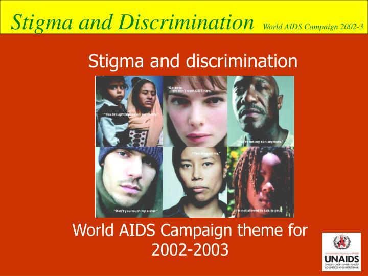 Stigma and discrimination
