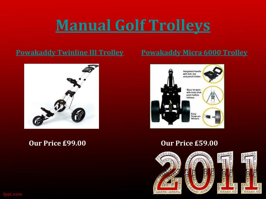 Manual Golf Trolleys