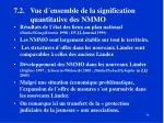 7 2 vue d ensemble de la signification quantitative des nmmo