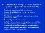 7 3 3 principes de la politique p nale des mineurs et points de d part en th orie p nale de la mav
