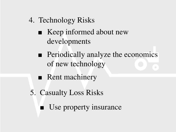 4.  Technology Risks