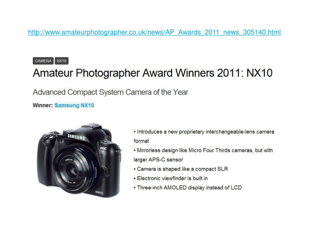 http://www.amateurphotographer.co.uk/news/AP_Awards_2011_news_305140.html