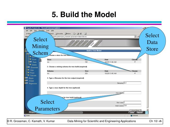5. Build the Model
