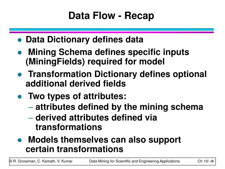 Data Flow - Recap