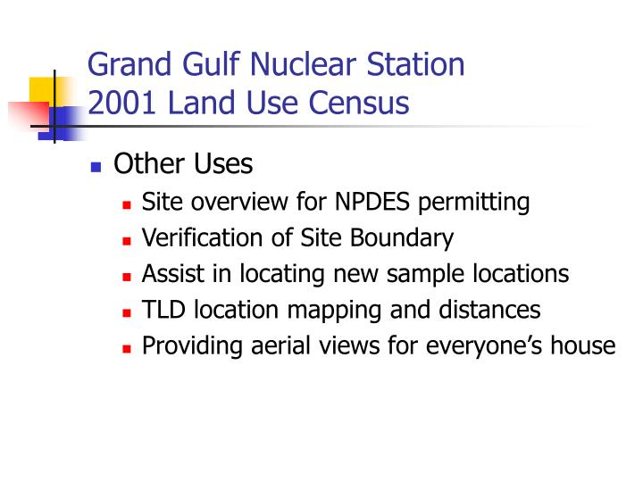 Grand Gulf Nuclear Station
