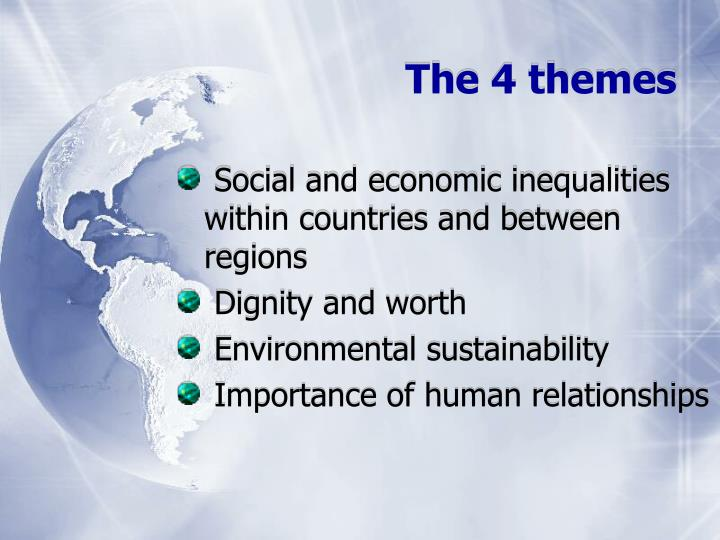 The 4 themes