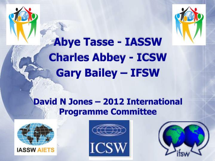 Abye Tasse - IASSW