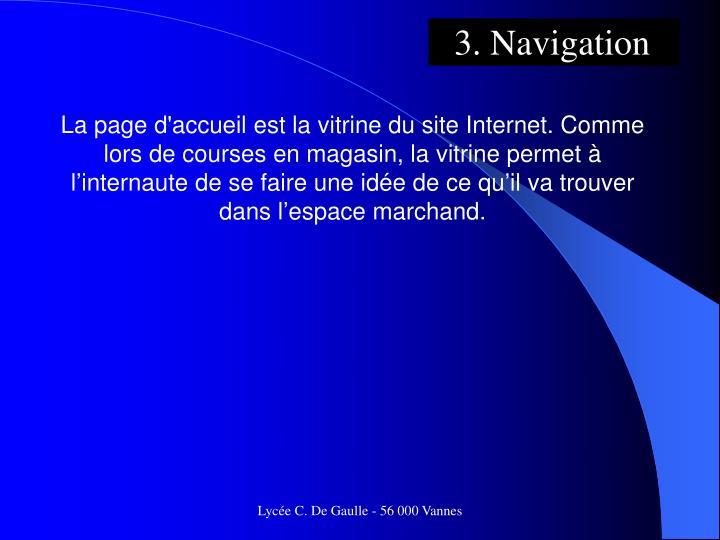3. Navigation