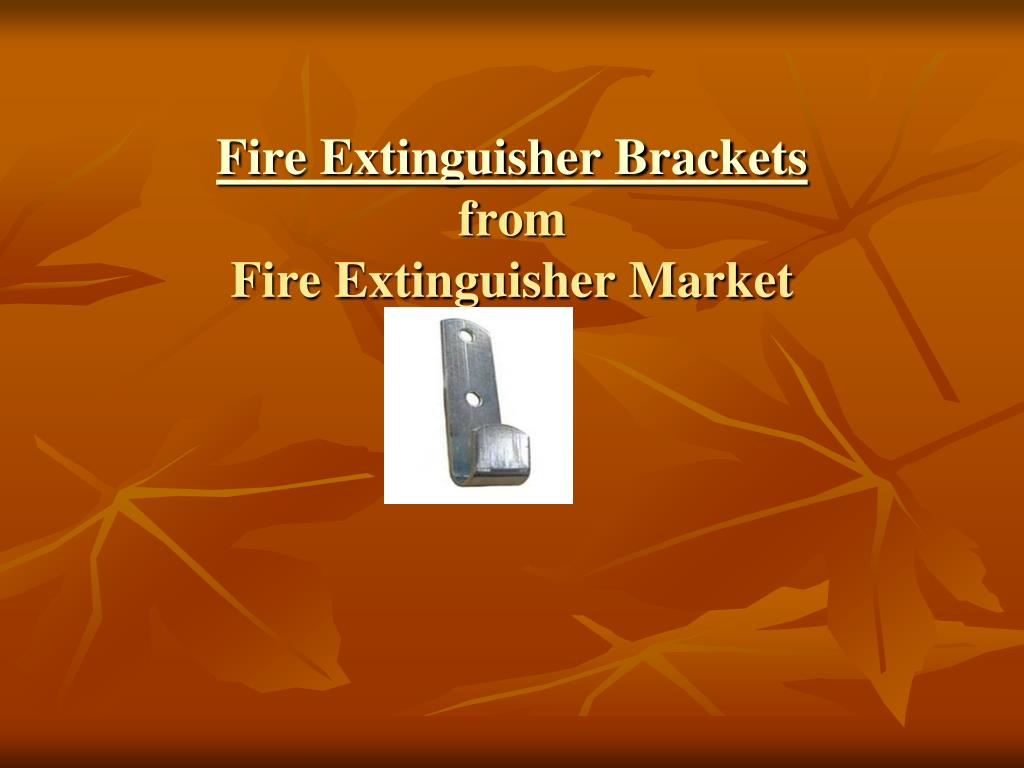 fire extinguisher brackets from fire extinguisher market