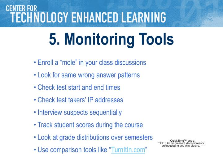5. Monitoring Tools