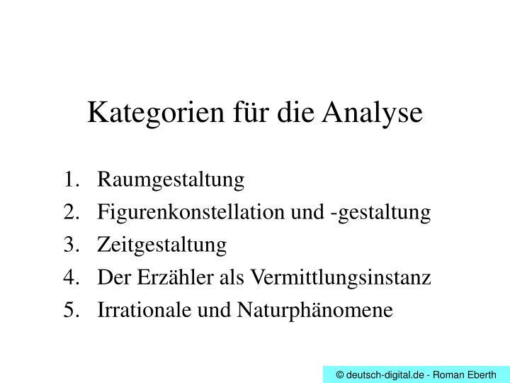 Ppt theodor fontane effi briest powerpoint presentation for Raumgestaltung analyse