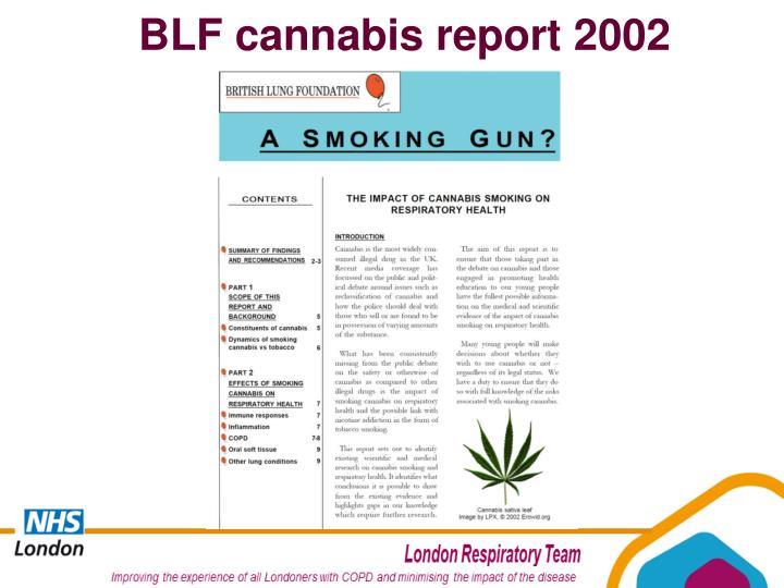 BLF cannabis report 2002