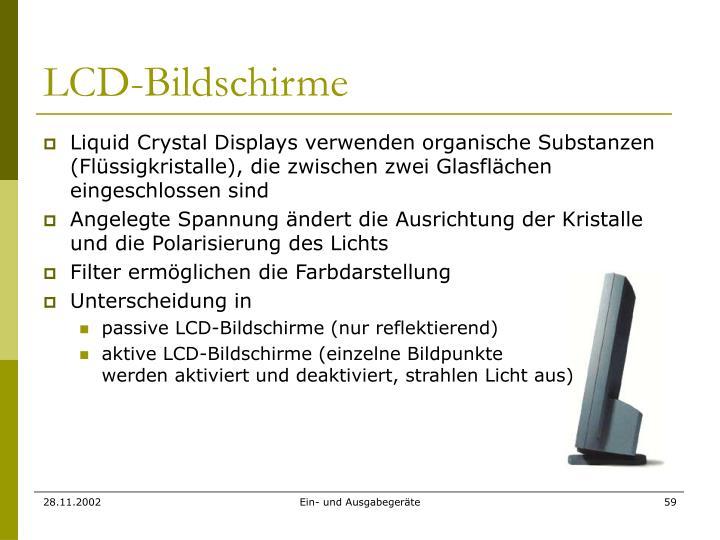 LCD-Bildschirme
