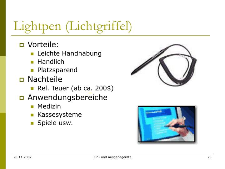Lightpen (Lichtgriffel)