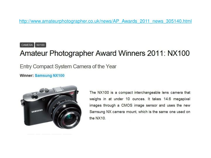 Http www amateurphotographer co uk news ap awards 2011 news 305140 html