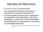 ejemplos de adhocracia