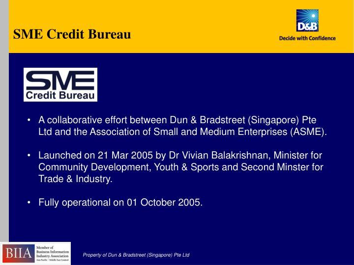 SME Credit Bureau