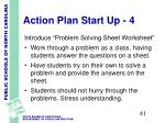 action plan start up 4