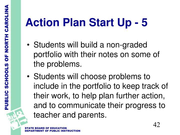 Action Plan Start Up - 5