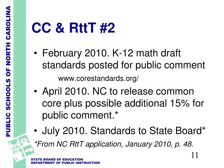 CC & RttT #2