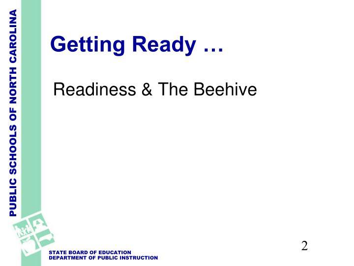 Getting Ready …