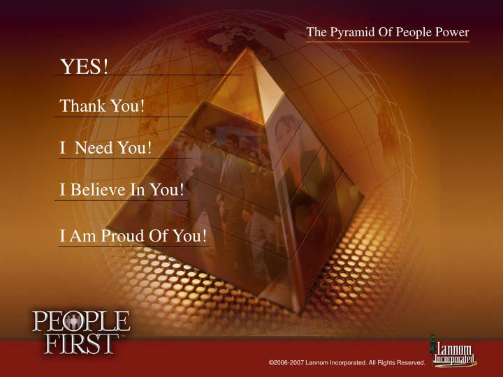 The Pyramid Of People Power