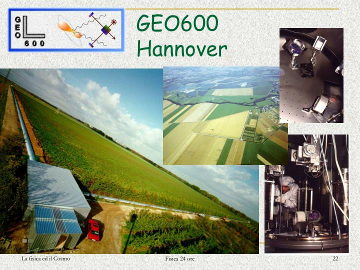 GEO600 Hannover