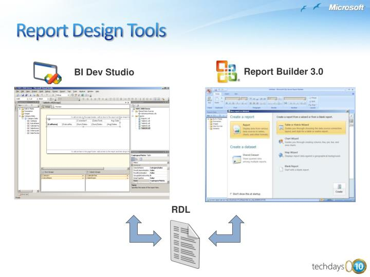 Report Design Tools