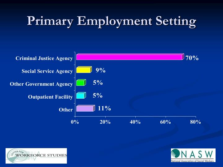 Primary Employment Setting