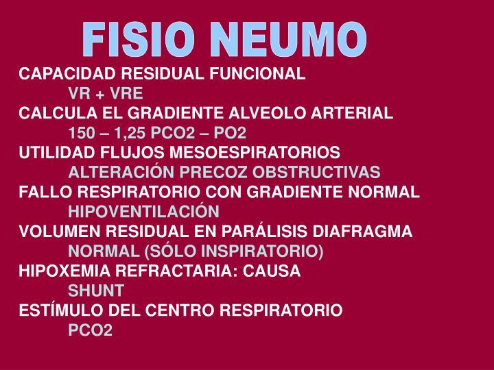 FISIO NEUMO