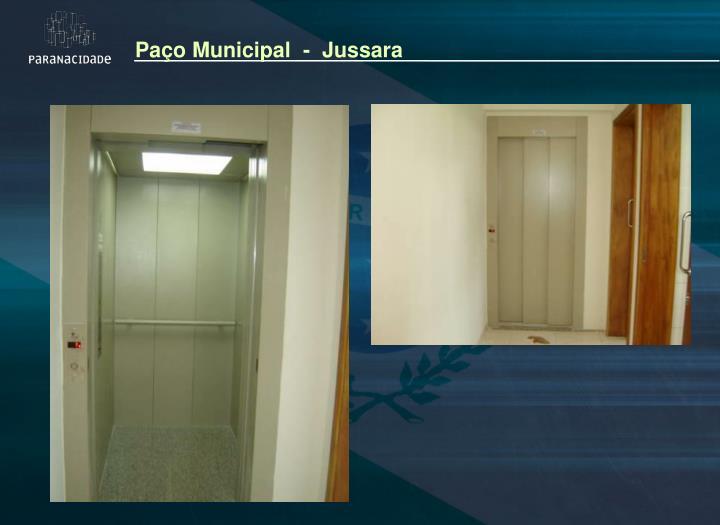 Paço Municipal  -  Jussara