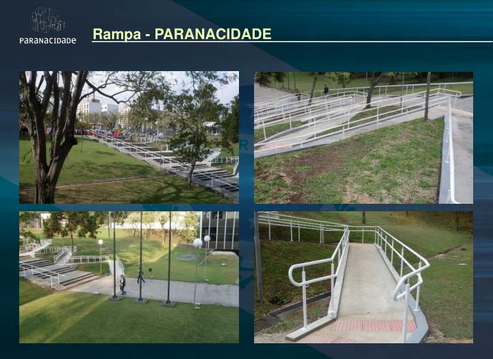 Rampa - PARANACIDADE