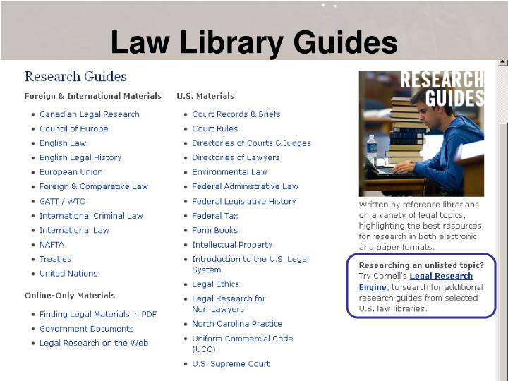 Law Library Guides