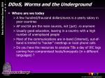 ddos worms and the underground4