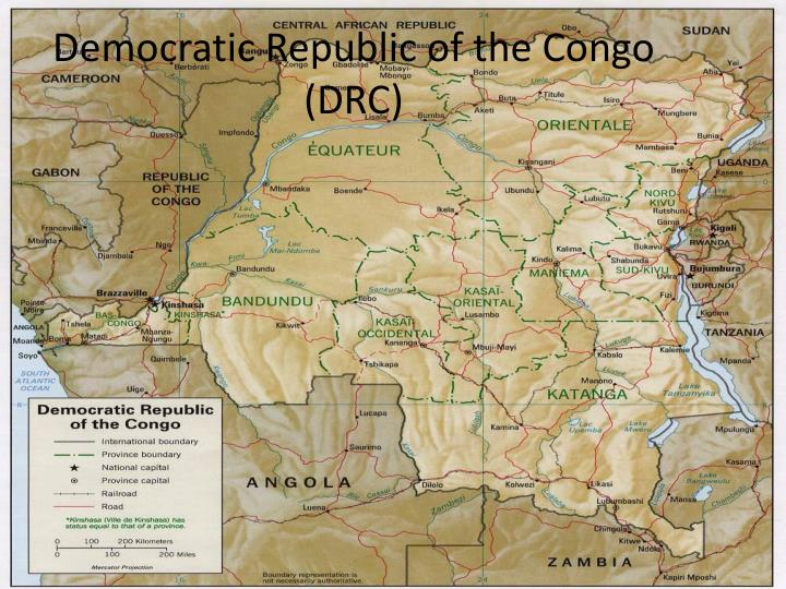 Democratic republic of the congo drc