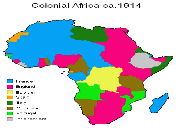 Introduction to colonial and neo colonial africa through the history of the democratic republic of the congo