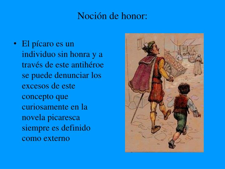 Noción de honor: