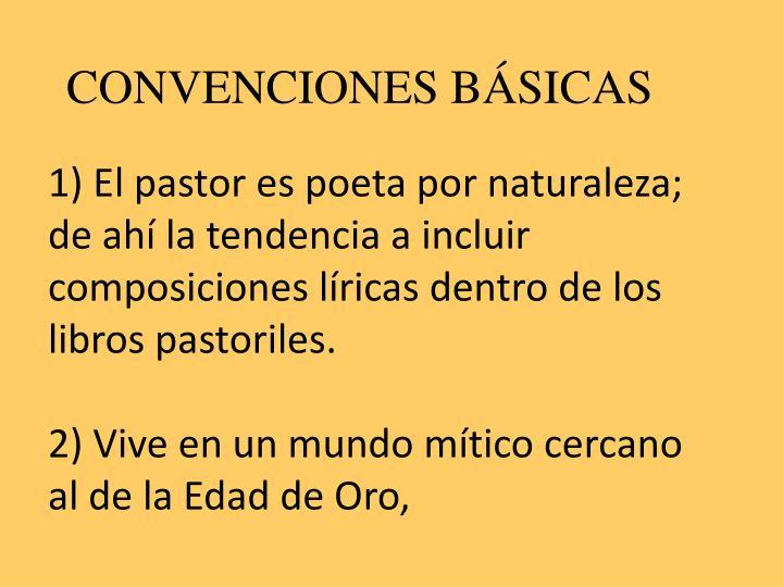 CONVENCIONES BÁSICAS