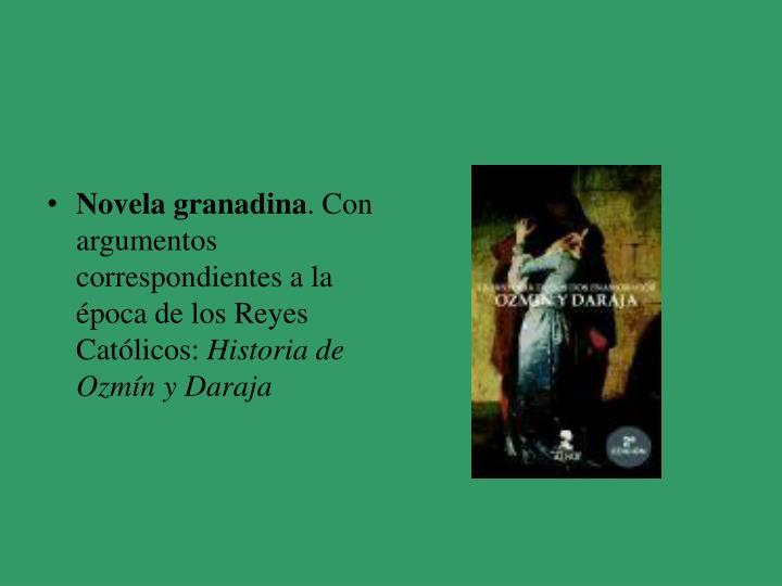 Novela granadina