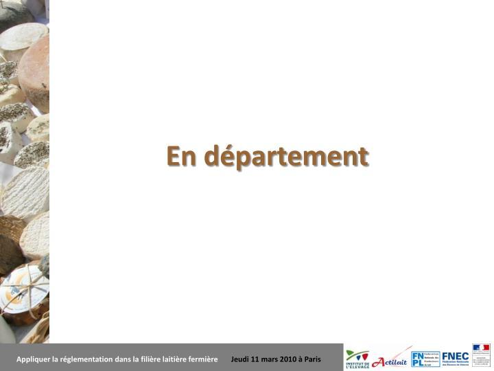 En département