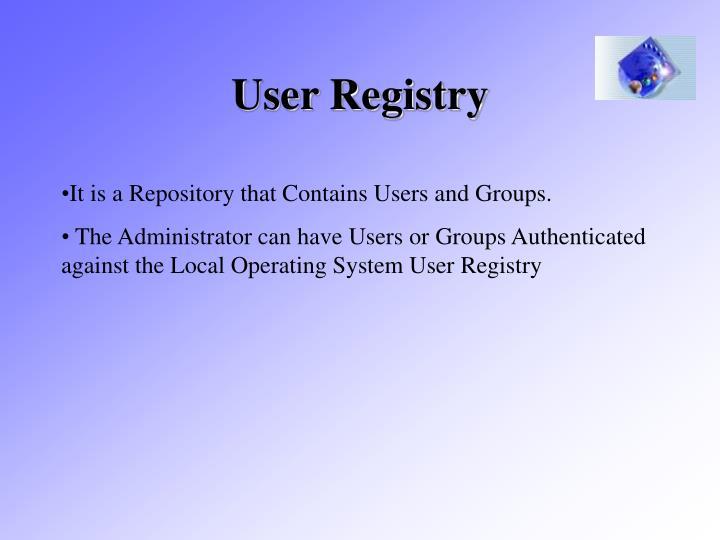User Registry