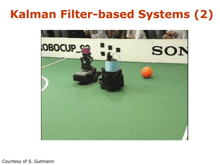 Kalman Filter-based Systems (2)