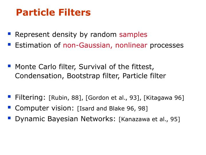 Particle Filters
