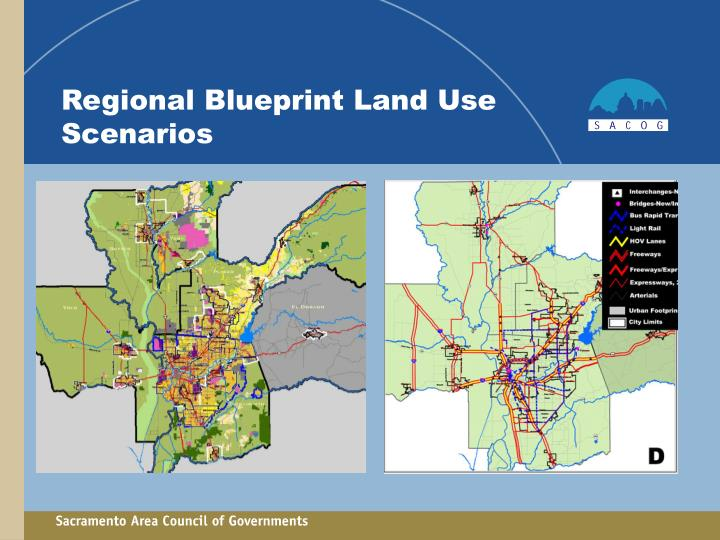 Regional Blueprint Land Use Scenarios